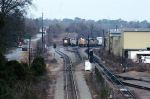 trains line up to leave cayce south to savannah