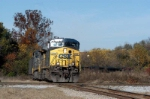 another csx coal train heads through devine jct