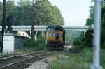 csx grain train power cut clear if it train