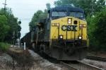 wateree train heads west into devine jct