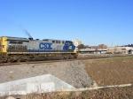 CSX 255 arrives into Augusta