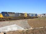 CSX 255 & 549 arrive into Augusta