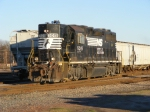 NS 5015 leaves CSX Yard for Home Base