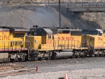 UP 3326 #2 power in a WB manifest (MEWTU - Englewood, TX - Tucson) at 1:26pm