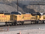 UP 9544 #3 power in a WB manifest (MEWTU - Englewood, TX - Tucson) at 1:26pm
