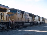 UP 4961 #2 power in an EB manifest (QWCEW West Colton, Ca - Englewood, TX) at 3:46pm