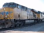 UP 5463 leads an EB doublestack ITIDI (Terminal Is, CA - Dallas Intermodal) at 4:11pm