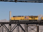 UP 5342 leads a WB autorack at 12:16pm