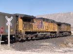 UP 5937 #1 rear DPU in a WB coal train at 1:30pm