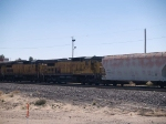 UP 9295 #3 power in an EB manifest at 12:00pm