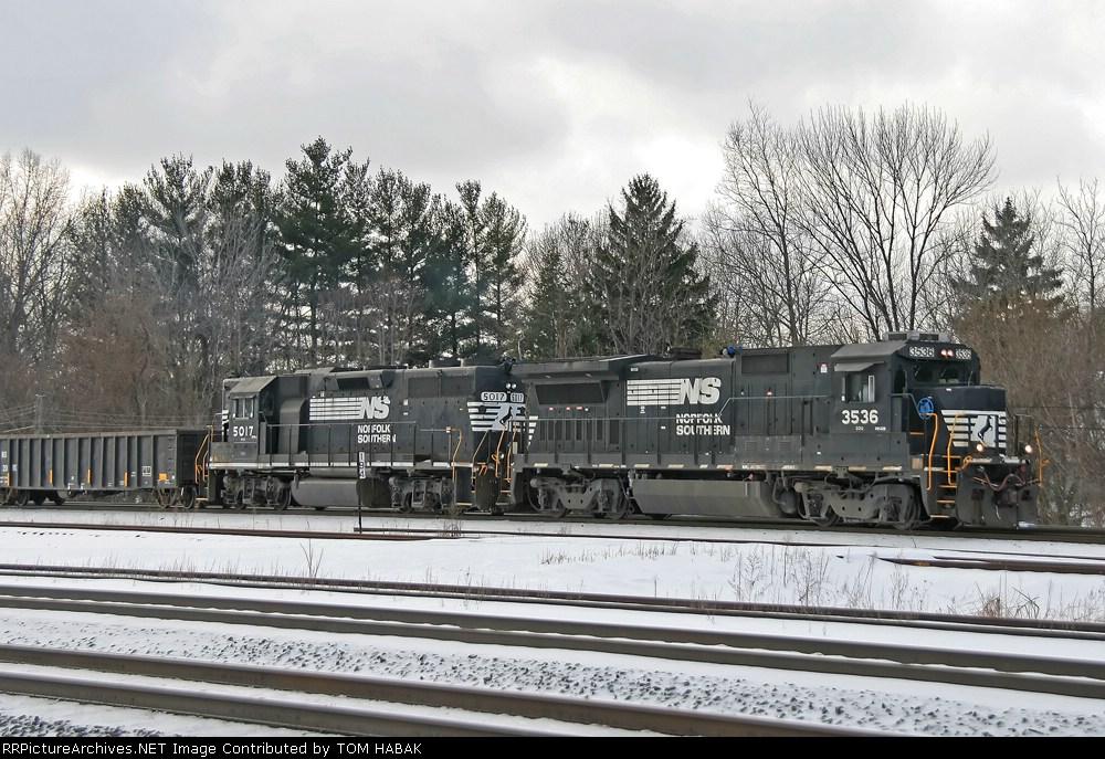 NS 3536 on 364