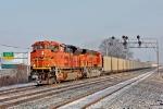 BNSF 9141 on NS 417