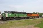 BNSF 8180 on CSX Q380-26