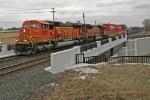 BNSF 9990 on CSX Q151-29