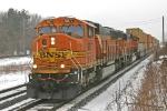 BNSF 9877 on CSX Q151-15