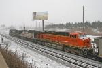 BNSF 6024 on NS 416