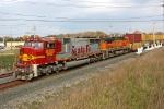 BNSF 8207 on CSX Q151-03