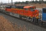 BNSF 9266 on NS X17