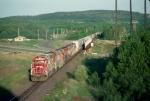 Northbound DW&P freight