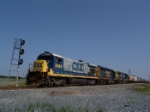 CSX 5894 may be old, but it's still reliable