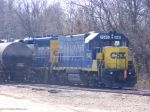 CSX 1540 takes a break from Local Work
