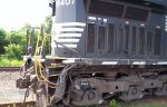 NS 9407 wrecked