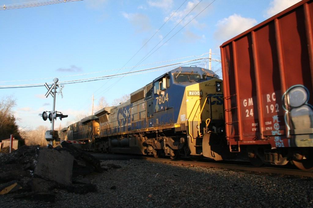 Trailing Engines on Q438