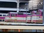 MBTA F40's