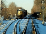 CSX from Braintree to Middleboro