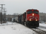 CN 2579 & 2404 heading east with M394