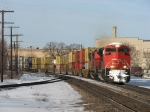 CN 8002 & 2435 head east again with Q148