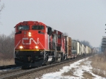 Following on the heals of 399, CN 8813 heads west with M393