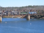 A closer shot of NS 192s power crossing the Savannah River Bridge