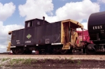 Chicago Central Caboose 199056 at Hawthorne Yard