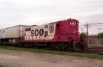 SOO 408 at Franklin Park, IL
