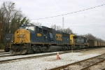 Coal train with re-numbered SD70MAC