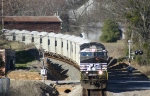 62R Rock train rolls through Jonesville