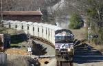 62R Rock train rolls through Jonesville