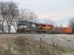NS 9116 & KCS 4050 heading west with an intermodal