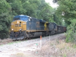 CSX 749 & 528 head north with V109-30