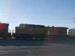 UP 9784 #3 power in an EB doublestack at 7:57am