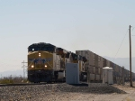 UP 7775 leads an EB doublestack past the detector at MP960.3 at 12:11pm
