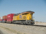 UP 7805 DPU in an EB doublestack at 4:39pm