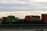 BNSF 2893 & Doublestacks