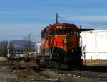 BNSF 2893 on Rough Tracks