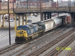 CSX 315 sole power on CSX train Q519