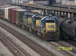 Rare to find three SD40-2's on Q669