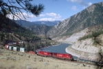 CP eastbound along Thompson River