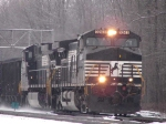 NS 9243 leads eastbound coal drag through CP 382