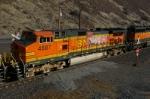 BNSF 4587 Vandalized